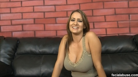 FACIAL ABUSE - FACE FUCKING TRINA MICHAELS WITH NO MERCY