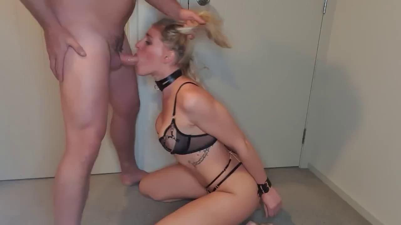 CUM DUMPSTERS - MY PERSONAL SUBMISSIVE THROAT SLAVE