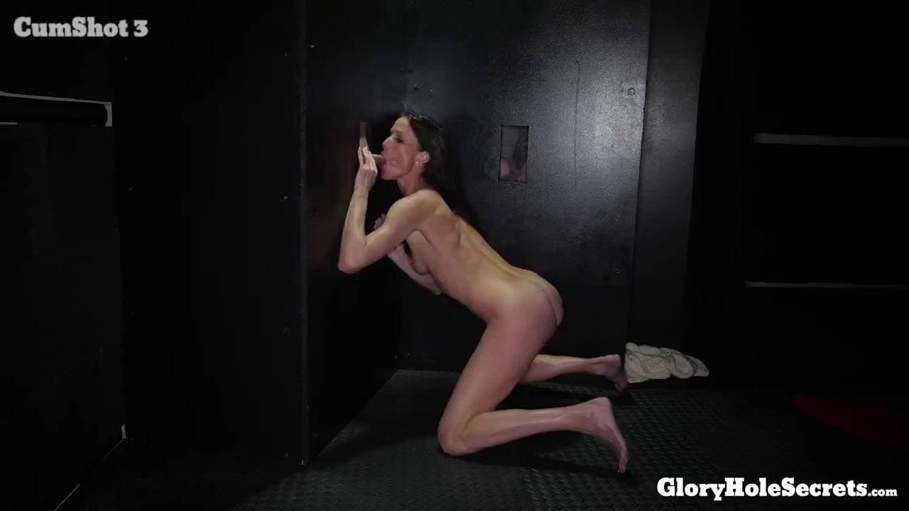 GLORYHOLE SECRETS - COCK SUCKING WELL DONE SOFIE MARIE 2ND VISIT