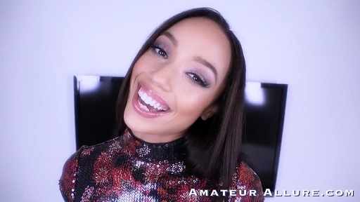 AMATEUR ALLURE - ALEXIS TAE RETURNS FOR A LOAD TO SWALLOW