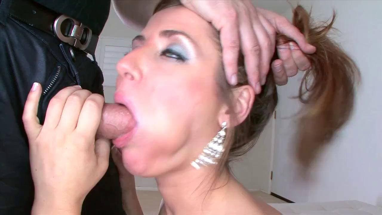 AMATEUR ALLURE - HOT SHEENA SHAW GAGGING ON DICK FOR THE CUM