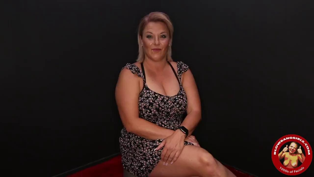 BLOWBANG GIRLS - THICK MILF KATRINA IS DOWN FOR A FACE FUCK