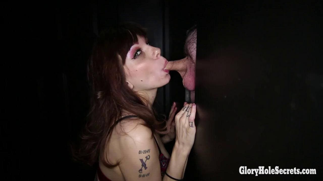GLORYHOLE SECRETS - CUM WHORE SHELBY DOES HER 5TH RUN