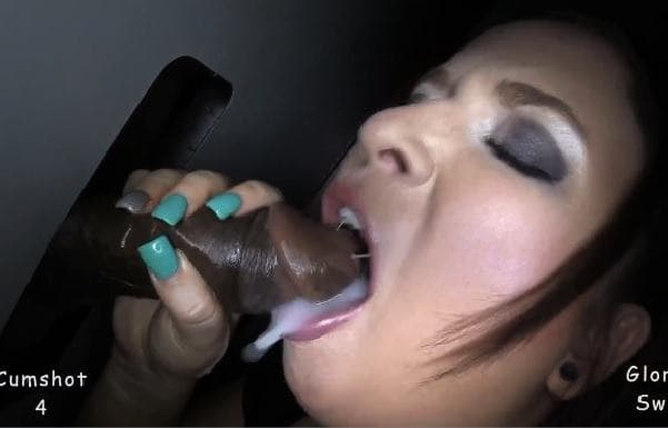 GLORYHOLE SWALLOW - SLOPPY MOUTH WENDY 1ST VISIT
