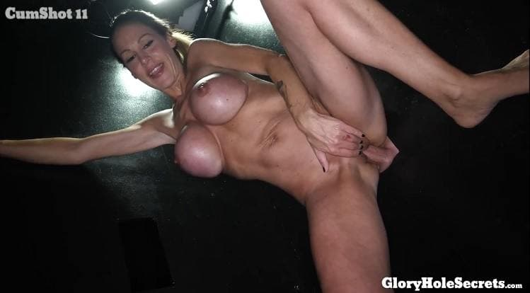 GLORYHOLE SECRETS - BUSTY MCKENZIE ON PROTEIN DIET 1ST VISIT
