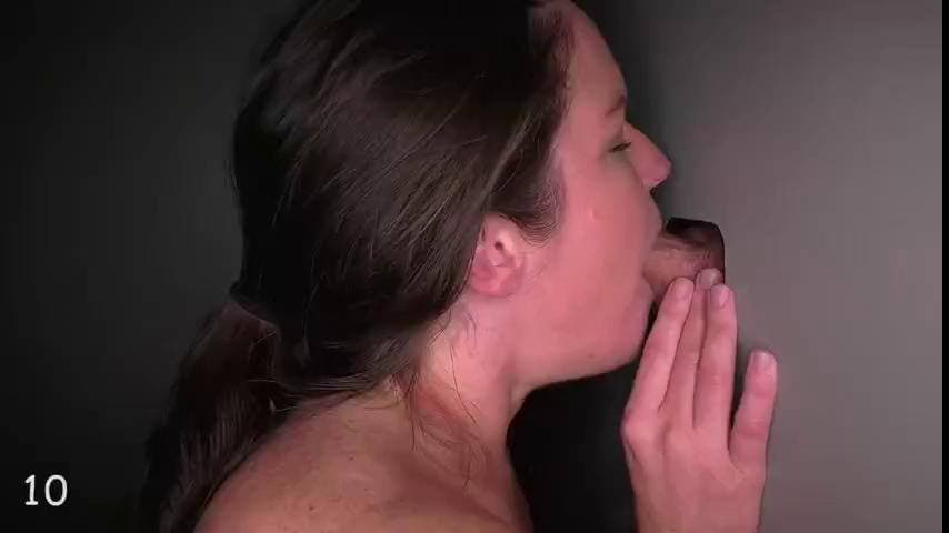 GLORYHOLE SWALLOW -  JULES IS BACK FOR SUCK & FUCK 4TH VISIT