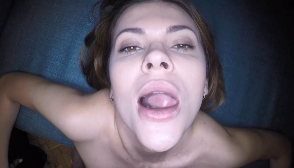 LOAD MY MOUTH - SEXY DICK SUCKING BY YOUNG VERONA SKY