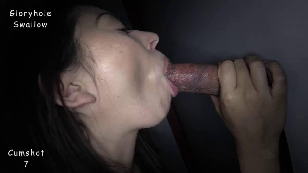GLORYHOLE SWALLOW - LIPS MADE FOR SUCKING DICK DAVITA 1ST VISIT