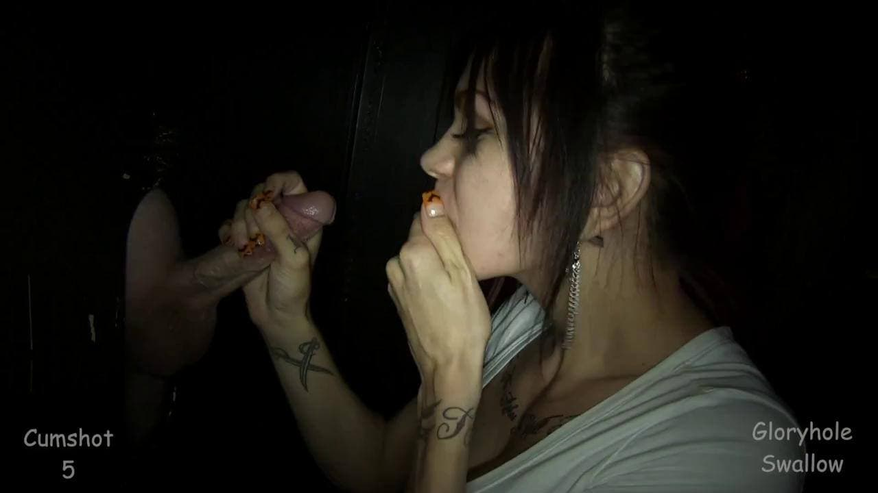 GLORYHOLE SWALLOW - DEALING WITH CUM ADDICTION SHELBY 9NTH VISIT