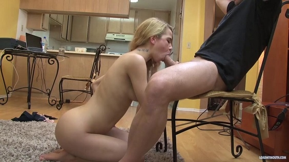 LOAD MY MOUTH - YOUNG COCK SUCKER ALINA WEST
