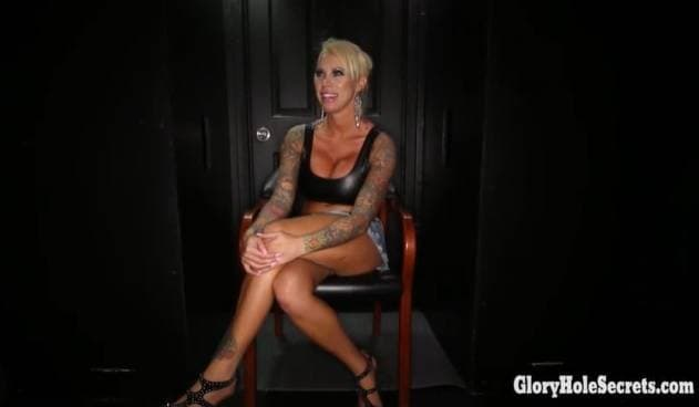 GLORYHOLE SECRETS - BIMBO LOLLY INK SUCKING DICKS