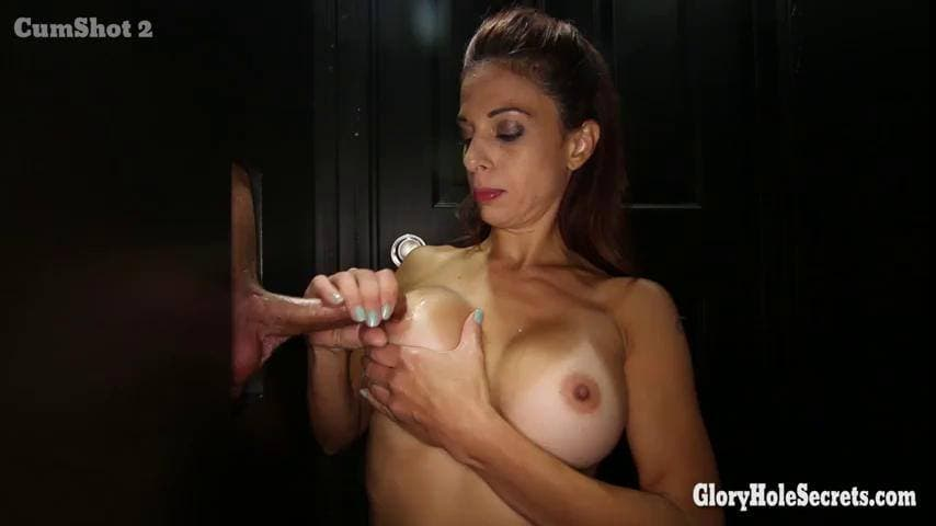 GLORYHOLE SECRETS - SPERM IS GOOD FOR EVA LONG 3RD VISIT